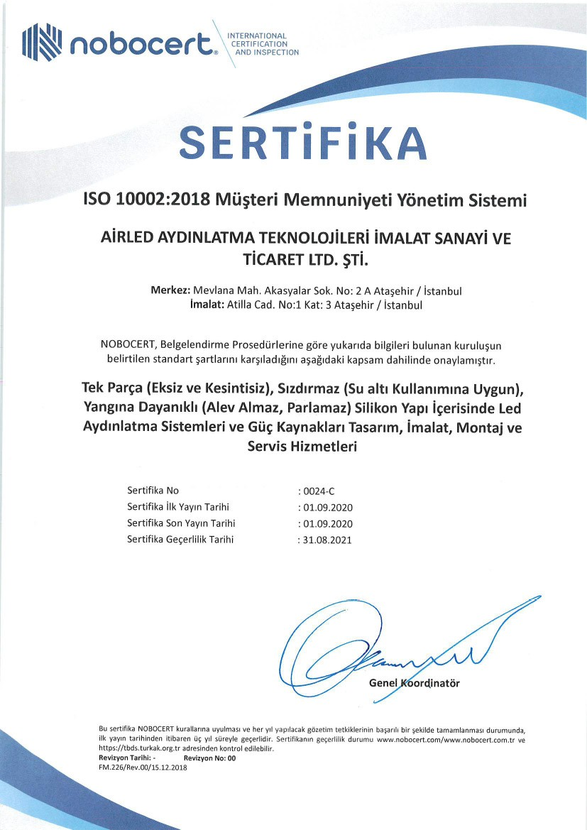 ISO 10002/2018
