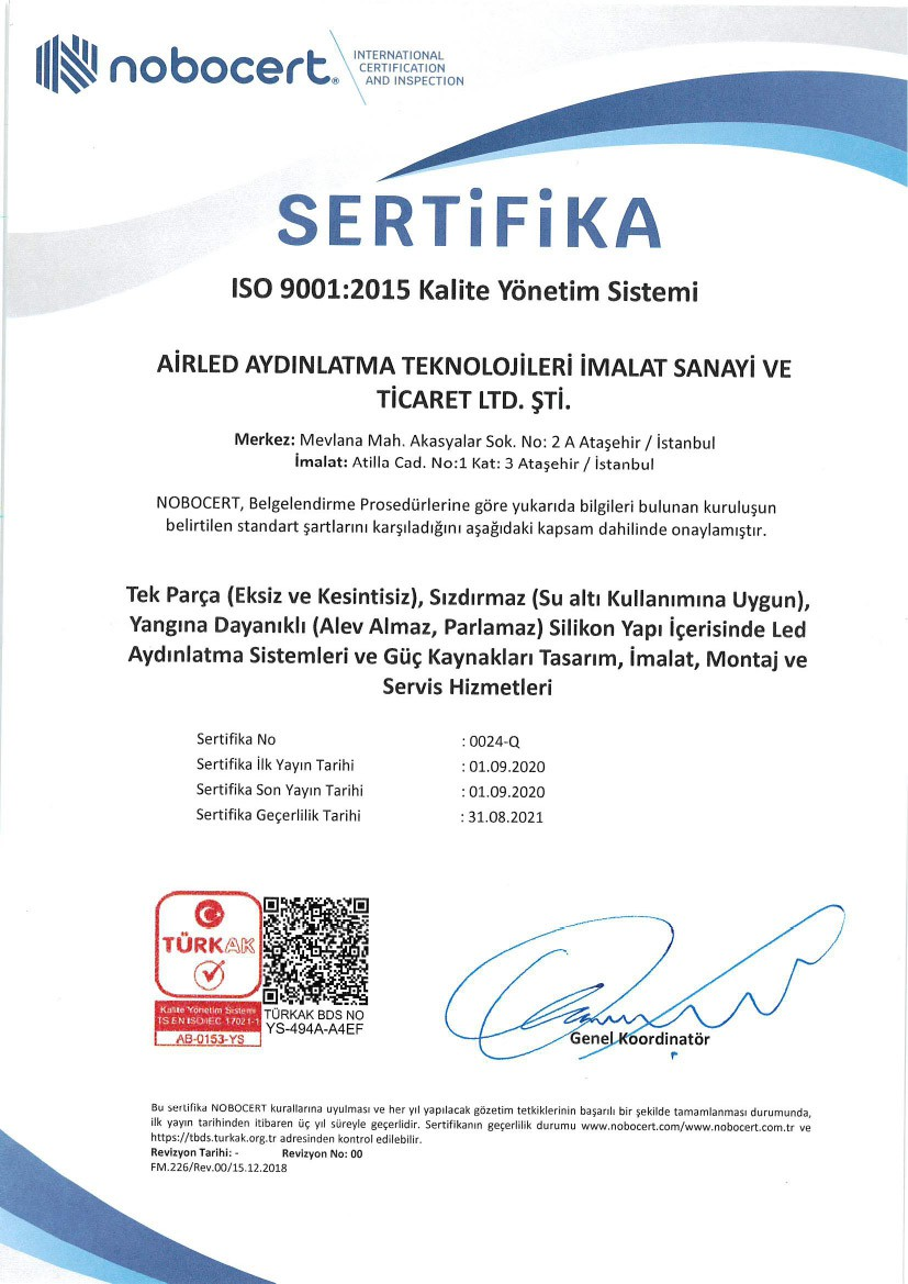 ISO 9001/20018